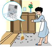 玄関タイル 掃除方法