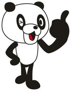 パンダに白髪が生える?