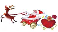 サンタクロースのイメージ
