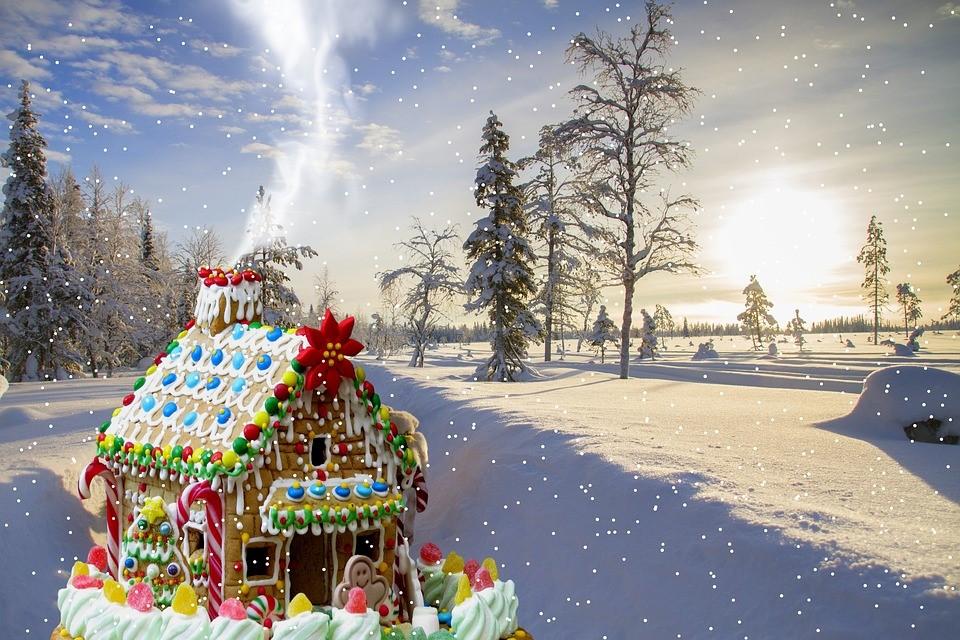 クリスマス手作りケーキ