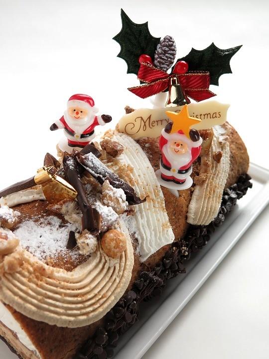 クリスマス手作りケーキ02