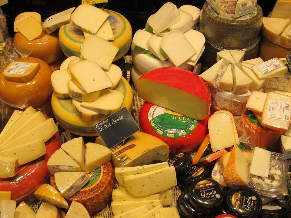 沢山のチーズ